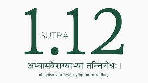 Sutra 1.12